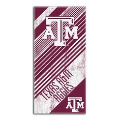 Use this Exclusive coupon code: PINFIVE to receive an additional 5% off the Texas A&M Aggies Diagonal Beach Towel at www.SportsFansPlus.com