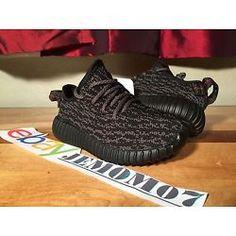 b8152e6e982107 Adidas Yeezy Boost 350 Infant BB5355 Pirate Black Size 6K 100% Auth w   receipt