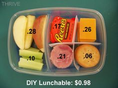 DIY Monday: Homemade Lunchables | The Rays Of Sunshine