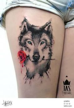 Image result for on a hot summer's night would you offer your throat to the wolf with the red roses tattoo