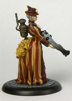 Super Punch: New steampunk miniatures