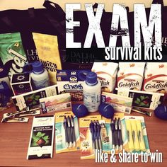 exam survival kit