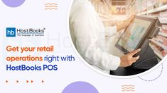 Need more data insights, case studies, and intellectual advice to help your business navigate through the new-normal era? #HostBooks online #POS solution gives you real-time insights into your retail operations and allows you to make better-informed decisions. #POSSoftware #Pointofsale #POSSolution #POSSystem #SmallBusinesses #BusinessKaAllrounder Point Of Sale, Accounting Software, The New Normal, Pos, Case Study, Cool Things To Make, Insight, You Got This, Retail
