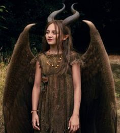 Young Maleficent Movie Costume