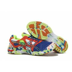 8f1e1d18d1 uull Asics Gel Noosa TRI 7 Para Hombre Zapatillas De Running Naranja Azul  Asics Gel Noosa