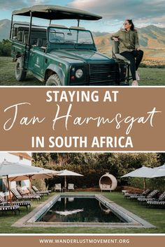Looking for somewhere unique to stay in Swellendam, South Africa? Check-in at Jan Harmsgat and indulge in good food, wine, and breathtaking views. South Africa travel tips | Where to stay in South Africa | #southafrica #swellendam