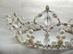 Renaissance Bridal Crown by SparklyPaws, via Flickr