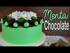 Como hacer una de tarta de chocolate con menta - chocolate mint cake