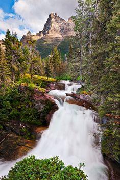 Cascade Peak, Glacier National Park, Montana