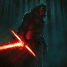 It's a Star Wars Day today with The Last Jedi Trailer coming out!  KYLO REN By Stanislav Dikolenko  #StarWars #SWCO #ConceptArt #Art #Disney #SciFi #Movies #Film #Comics #ComicArt #TheLastJedi