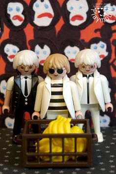 Andy Warhol, Playmobil Sets, Lego, Plastic Doll, Shopkins, Play Mobile, Projects To Try, Childhood, Dolls