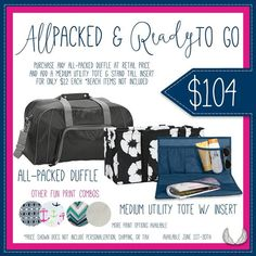 Thirty-One Bundle: available in June 2016 only!