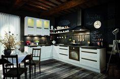 Zdjęcie: Kuchnia KAMplus z frontami Olivia - Kuchnia - Styl Skandynawski - Forestor