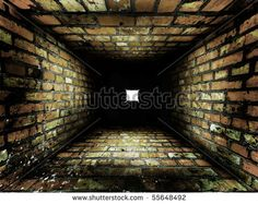 Stock Images similar to ID 111764018 - old cracked brick wall...