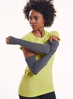 herringbone arm warmers