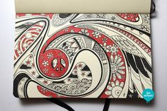 Moleskine illustration #30: Peace. by Lex Wilson, via Flickr