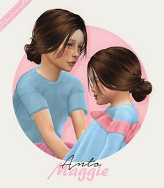 Anto Maggie hair for kids and toddlers by Simiracle for The Sims 4 Sims 4 Game Mods, Sims 4 Mods, Toddler Hair Sims 4, Toddler Hair Bows, The Sims 4 Bebes, Pelo Sims, The Sims 4 Cabelos, Sims 4 Cc Kids Clothing, Sims 4 Children