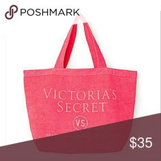 Beautiful NWT Never used Victoria secret Tote Brand new victoria secret tote.never used. Smoke and pet free home.  Fast shipping + extra gift. Victoria's Secret Bags Totes
