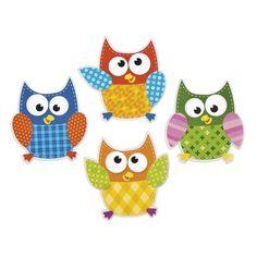 Bulletin Board Cutouts, Owls from Dot NZ Shop