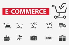 25 e-commerce icons Graphics This set contains 25 e-commerce icons.**- 1 AI File - 1 EPS File- 1 JPG Fil by Iconiac studio E Commerce Business, Business Icon, Business Brochure, Business Card Logo, Business Marketing, Urban Icon, Business Illustration, Bag Illustration, Create Online Store