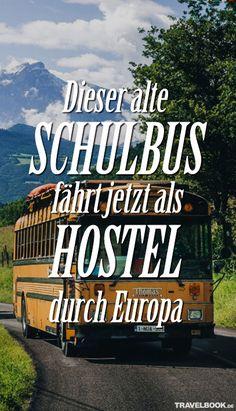 """""""Der Luxus eines Hostels. Die Freiheit eines Campervans. Die Gastfreundschaft einer einladenden Familie"""" – so lautet das Motto des Hostel-Busses, mit dem eine junge Familie aus Belgien durch Europa tourt. Wer etwas flexibel ist, kann mit aufspringen und Teil eines einmaligen Lebensgefühls werden."""