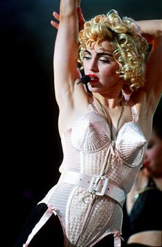 Photo of Madonna 90s for fans of The 90s. pictures from her Blond Ambition Tour