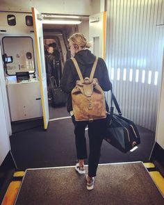 Maria's Instagram: One step forward ✈️