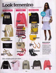 SS15 Benetton, Ss 15, Polyvore, Image, Fashion, Heels, Skirts, Feminine, Moda