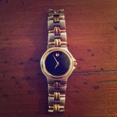 Two Tone Women's Movado Watch Authentic-Silver and gold women's watch, needs new battery. Open to offers Movado Accessories Watches
