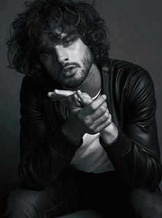 """Marlon Teixeira in """"The IncredibleS by Adriano Russo for Esquire Russia October 2015 Issue Popular Mens Hairstyles, Mens Hairstyles With Beard, Men's Hairstyles, Haircuts, Marlon Teixeira Instagram, Marlon Texeira, Miami Images, Dark Haired Men, Model Rock"""
