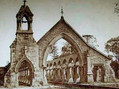 Mortuary Station at Rookwood in 1957.A♥W