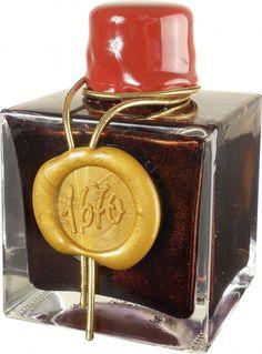 J. Herbin 1670 Anniversary Bottled Fountain Pen Ink, 50ml - Red