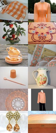 Life Is Just Peachy by The Widhalms on Etsy--Pinned with TreasuryPin.com
