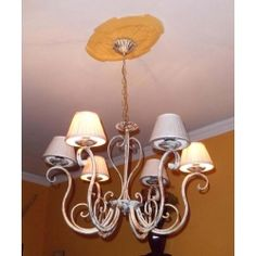 Wrought Iron Chandelier. Customize Realisations. 245 Wrought Iron Chandeliers, Applique, Ceiling Lights, Lighting, Design, Home Decor, Light Fixtures, Ceiling Lamps, Lights