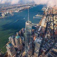 How sweet to be a cloud floating in the blue. by... #nyc #newyork #newyorkcity #manhattan #brooklyn #queens #eastvillage #westvillage #midtown #downtown #tribeca #soho #uppereastside #upperwestside