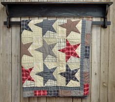Quilt Chest - Primitive Style Rugs~Early American Reproductions
