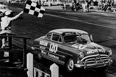 The Fabulous Hudson Hornet NASCAR speedway back in 1950s.