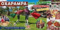 Feria Artesanal, Agroindustrial y Turística de Oxapampa en en Parque de la Amistad