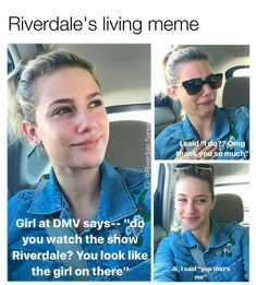 Iconic @lilireinhart tag a friend who would love this! follow (@riverdale.series) for more