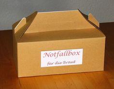 Notfallbox für die Braut von Smilland auf DaWanda.com