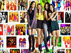 The Pretty Little Liars Girls. This is really cool!