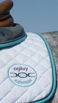 Ogilvy Equestrian saddle cloth. Thank goodness for Shadow Horse - I need one of these!