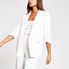 River Island Blazer - LifeinCream Fashion Brands, Luxury Fashion, Winter Outfits, Summer Outfits, Clothing Tags, River Island Womens, Pocket Detail, Street Style Looks, Fashion Books