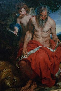 Anthony van Dyck - heilige Hieronymus