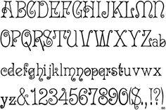 Fontscape Home > Period > Art Nouveau > Serif Hand Lettering Alphabet, Calligraphy Alphabet, Calligraphy Fonts, Typography Fonts, Alphabet Fonts, Fancy Fonts, Cool Fonts, Mary Engelbreit, Joan Miro