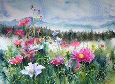 Watercolor K. Majer-Ciejowska