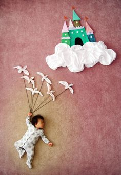 Do babies dream when they sleep, or they simply rest peacefully? Queenie Liao, an artist and a mother of three boys, has shared the adventurous dramas that her child Wengenn dreams of during his sleep.