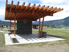 Hood River Park, Hood River, OR #park #picnic #Oregon #architecture #design #Boxwood