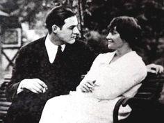 Hadley Hemingway and Ernest Hemingway in Love