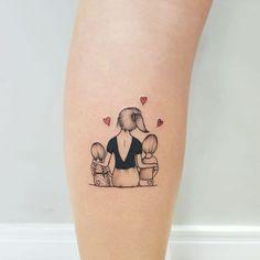 Mutterschaft Tattoos, Mini Tattoos, Cute Tattoos, Body Art Tattoos, Small Tattoos, Sleeve Tattoos, Arrow Tattoos, Tattoos Skull, Kid Tattoos For Moms